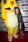 Samantha Droke with Cuddles from Happy Tree Friends