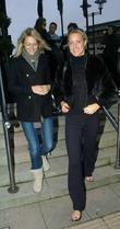 Ali Bastian and Natalie Lowe arrive at their...