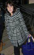 Natalie Cassidy arrives at her Hotel ahead of...