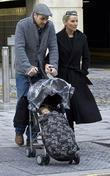 Zoe Lucker, James Herbert and Baby