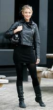 Ali Bastian  'Strictly Come Dancing' stars outside...