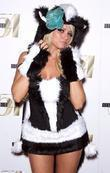 Angel Porrino attends 2nd Annual 'Hollyween' party hosted...