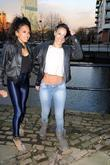 Jade Ewen and Amelle Berrabah of the Sugababes...