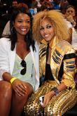 Gabrielle Union and K. Rose At The 'zo's Summer Groove' Charity Basketball Game At The American Airlines Arena