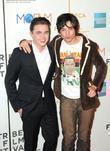 Ezra Miller and Jesse McCartney