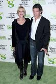 Melanie Griffith and Antonio Banderas Premiere of 'Shrek...