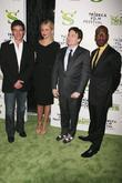 Antonio Banderas, Cameron Diaz and Mike Myers