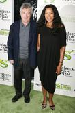 Robert De Niro, Grace Hightower Premiere of 'Shrek...