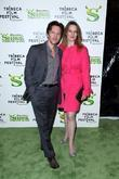 Andrew McCarthy and guest Premiere of 'Shrek Forever...