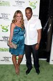 CaCee Cobb and Donald Faison Premiere of 'Shrek...