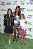 Kelly Bensimon and family Premiere of 'Shrek Forever...