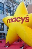 Macy's Star Macy's Thanksgiving Day Parade preparation...