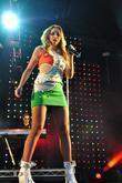 Una Healy The Saturdays perform at Haigh Hall...
