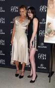 Maria Bello and Kristen Stewart