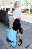 Tila Tequila shopping on Robertson Boulevard Los Angeles,...