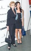 Actresses Jane Fonda and Jessica Szohr attend the...
