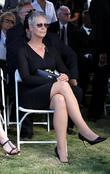 jamie lee curtis attend the funeral for curtis fath