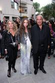 Sir Philip Green with family