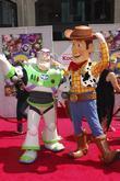 Buzz Lightyear and Walt Disney