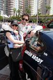 Adrien Brody and mom Sylvia Plachy