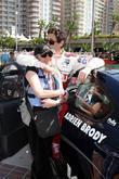 Adrien Brody & mom Sylvia Plachy The Toyota...