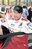 Christian Slater The Toyota Pro/Celebrity Race qualifying at...