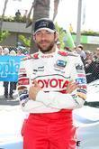 Zachary Levi The Toyota Pro/Celebrity Race qualifying at...