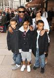 Ashley Walters and family