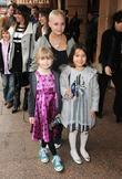 Gail Porter, her daughter Honey and friend
