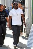 Sean Combs aka Diddy on the set of...
