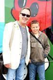 Vic Reeves With Son