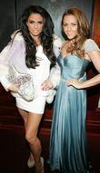 Katie Price and Michelle Heaton