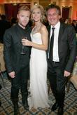 Ronan Keating, Yvonne Keating, Ireland's Most Stylish Woman prize winner and Michael O'Doherty