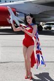 Dita Von Teese Virgin Atlantic celebrates 10th years...