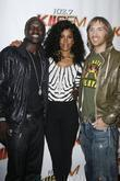 Akon and Kelly Rowland