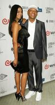 Heidi Allende and Russell Simmons