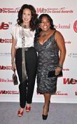 Andie MacDowell and Sherri Shepherd WE tv and...