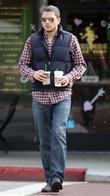 Wentworth Miller seen getting coffee in West Hollywood....