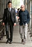 Matt Bomer and Willie Garson