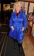 Anne Doyle,  at a charity book signing...