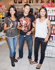 Alex Meraz, Julia Jones, Las Vegas, Tinsel Korey, Planet Hollywood