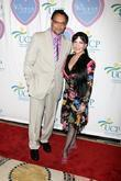 Jimmy Smits and Loreen Arbus