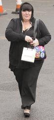 X Factor finalist Mary Byrne  arriving at...