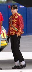 An auditionee in a Sgt. Pepper jacket