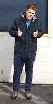 Aiden Grimshaw 'X Factor' finalists are seen arriving...