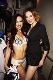 Nina Lafarga and Sarrah Strimel