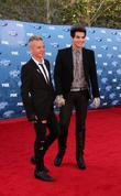 Sauli Koskinen, Adam Lambert arriving at the 2011...