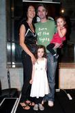 Todd Sampson and his family