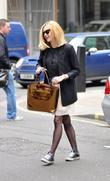 Fearne Cotton arrives at the BBC Radio One...