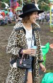 Alexa Chung Celebrities at The 2011 Glastonbury Music...